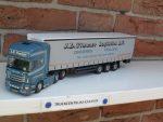 Scania  6 x 2  van  J. D. Timmer.
