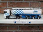 Daf  XF  met  3  asser  Welgro  van  AB  Texel.