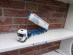 Scania  met  silo  kipper  van  AB  Texel.