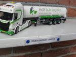 Scania  van  HdB  Logistics  uit  Joure.